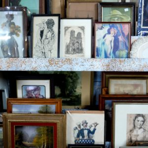 Vintage Pictures and Frames