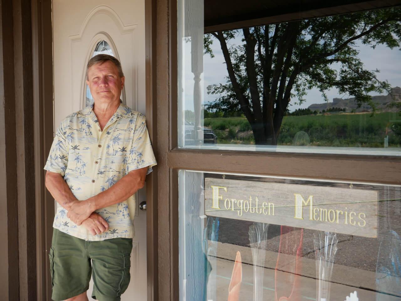Dana Miller, Owner of Forgotten Memories Antiques